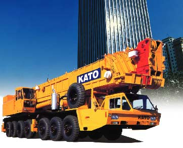 120 ton hydraulic truck crane KATO for seal