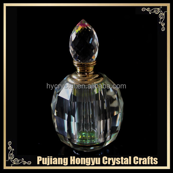 12ml high quality crystal roll on bottle for perfume