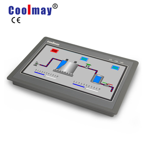 COOLMAY widescreen display 7 inch capacitive touch hmi can bus plc wholesale rockwell automation