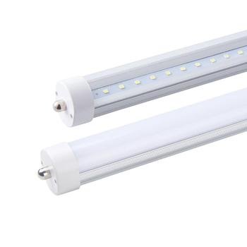 ETL 8FT T8 Led Tube Light With FA8 45W 3800 4200lm 2400mm 85 - 265V 0.95PF 2700 - 6500K Aluminum PC Non bending