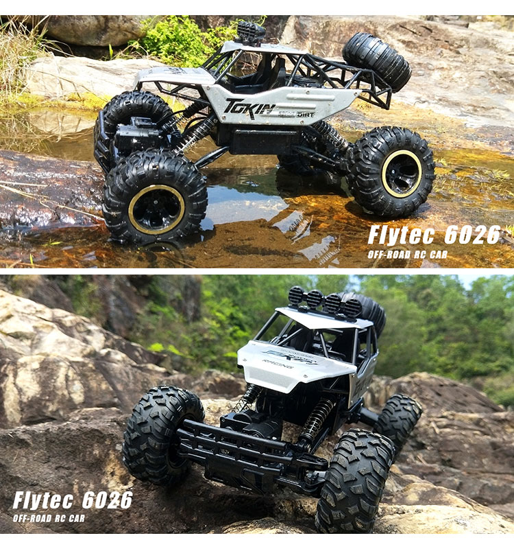 10. 6026E_Silver_2.4G_4WD_Off-Road_Buggy_Rc_Climbing_Car_Remote_Control_Alloy_Car