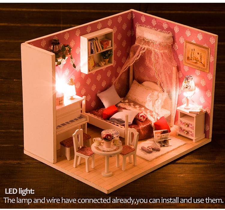 Christmas Dollhouse Decorations.Christmas Decorations Diy Dolls House Miniature Assembly View Christmas Doll House Miniature Iie Create Product Details From Guangzhou Know Me Craft