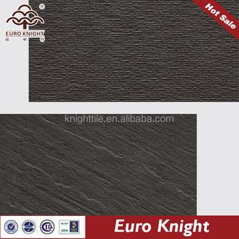 Glazed Black And White Self Adhesive Vinyl Floor Tile Of Full Body ...