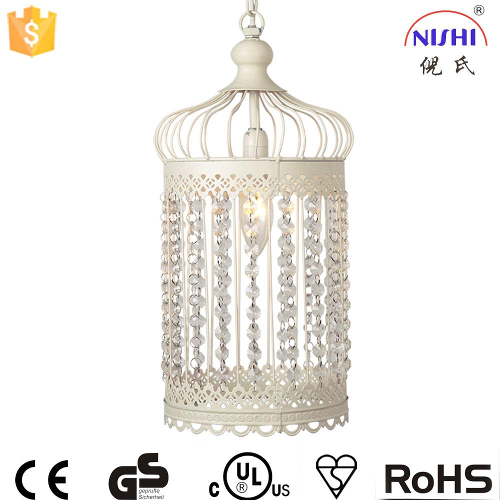 Marocaine lampe moderne vintage birdcage marocaine lampe suspendue avec acrylique décoration ns 124028