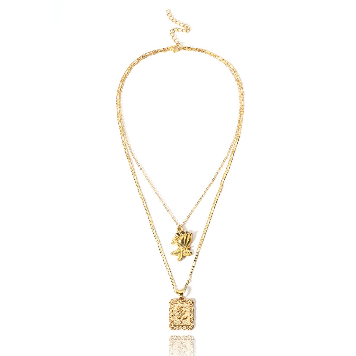 cd4a90ea6 مصادر شركات تصنيع الذهب الطبقات سلسلة قلادة والذهب الطبقات سلسلة قلادة في  Alibaba.com