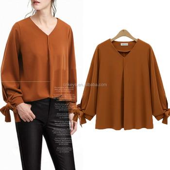 1365f07af44 K1418ASpring new plus size women clothes designs 2017 XL-5XL plus size  blouse for fat