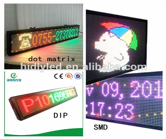 Hot Sale Cheap Price Software Programmable Led Running Message Display  Board With Case - Buy Led Running Message Display,Software Led