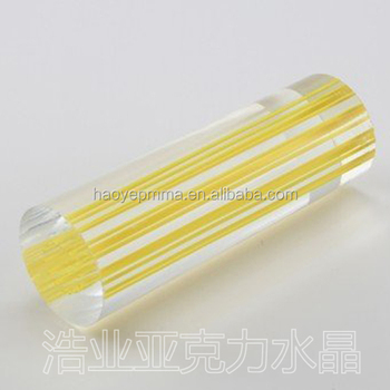 Haoye Pmma Scroll Rods For Invitation Buy Scroll Rods For