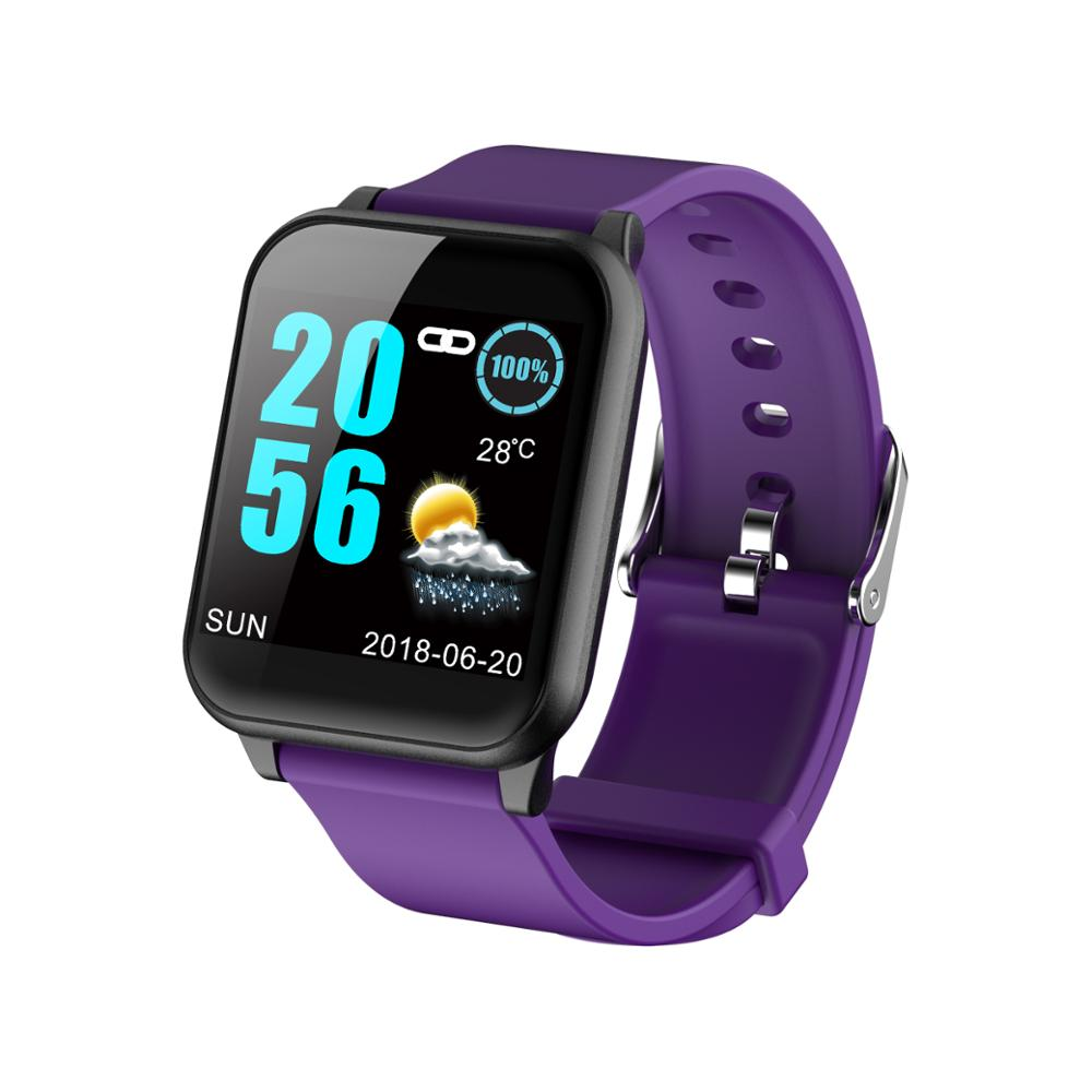 Z02 PPG Smartwatch, 2019 New IP67 Waterproof Sport Fitness Smart Watch With Heart Rate Monitor Blood Pressue for Samsung iPhone