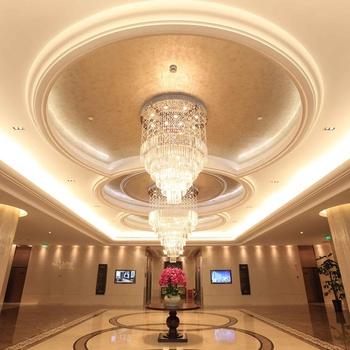 Beautiful Modern Lights Large K9 Crystal Chandelier Manufacturer For Hotel Lobby Chandeliers Hotels