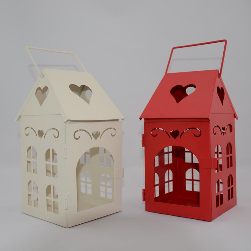 Rustic Wholesale Home Decor: Love Fashion Rustic Iron Lantern Home Decoration Birthday