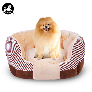 RoblionPet Amazon pet nest dog bed pet luxury soft pet beds for dogs