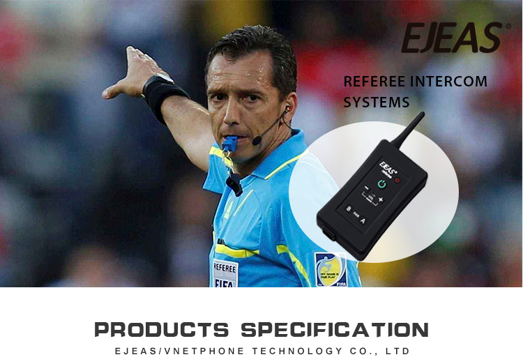 FBIM soccer Referee Full Duplex Bluetooth headset