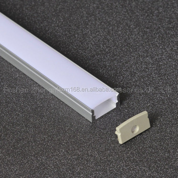 Commercial Extrusion Aluminium Channel Customized Led Profile For Strip Lights Bar Strips