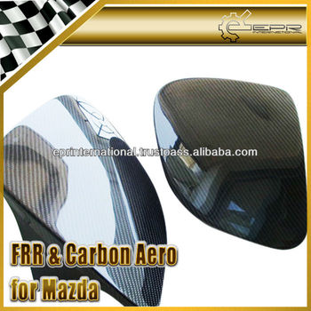 For Mazda RX7 FD3S Carbon Fiber OEM Style Head Light Cover
