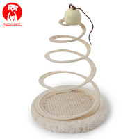 Pets Cats Toys Scratching Tree Sticks Toys Funny Interactive Spring Spiral Mouse Toy Kitten Cat Training Playing tools
