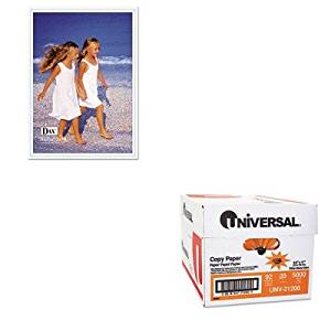 KITDAXN140246MTUNV21200 - Value Kit - DAX MANUFACTURING INC. Velcro Magnetic Cubicle Photo/Document Frame (DAXN140246MT) and Universal Copy Paper (UNV21200)
