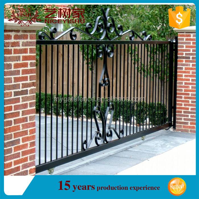 Puertas de jardin de hierro puertas y accesorios toldos for Puertas jardin baratas