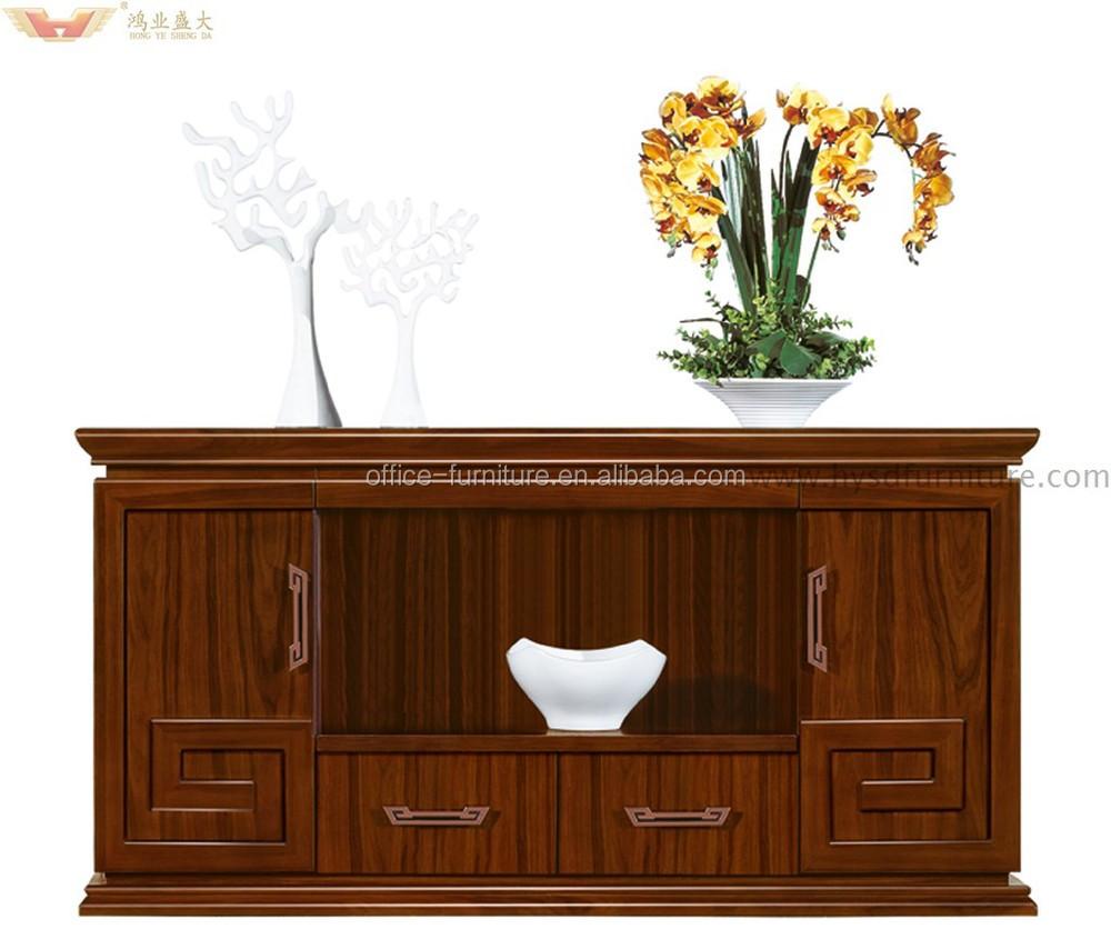 Wood Veneer Office Furniture Credenza