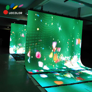 Flexible LED curtain display / screen / foldable LED display NEW arrival!