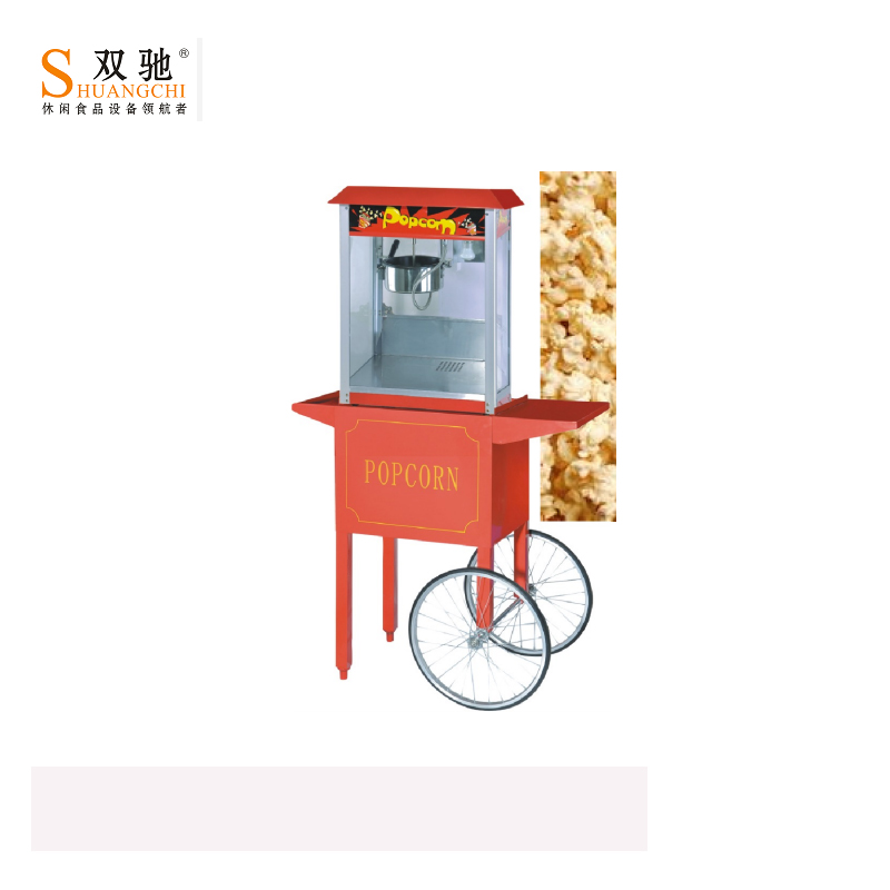 2019 Popular CE Commercial Electric Type Popcorn Machine Cart for Sale