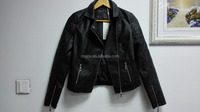16JWP1 cheap good quality men PU leather jacket