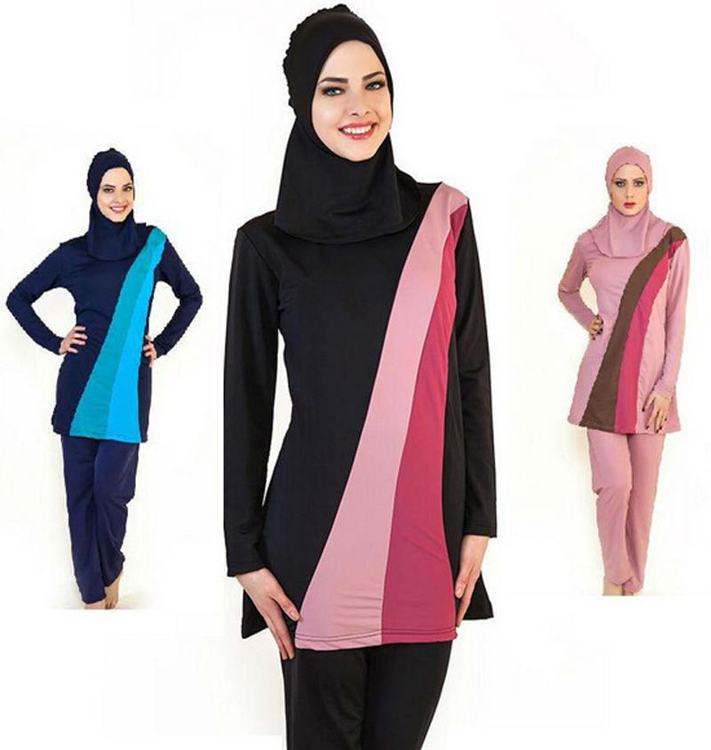 748cc21ac0 Quality full coverage swimwear Islamic Swimsuit islamic swimwear women  Swimsuits For Muslim women muslim swimwear hijab