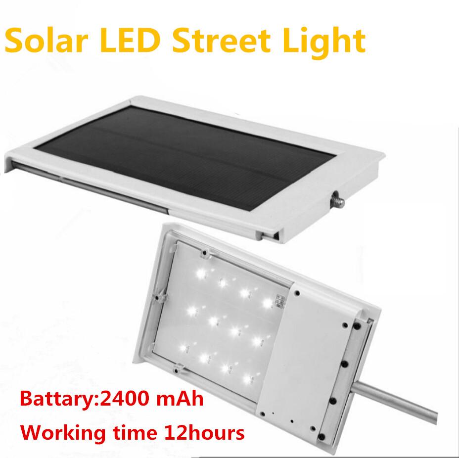 12 LED Solar Sensor Lighting Solar Lamp Powered Panel LED