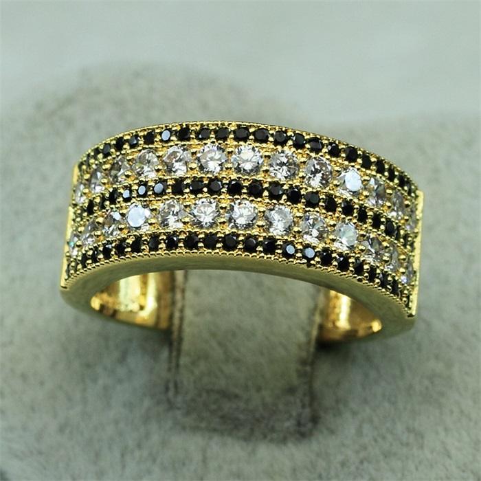 china sj joyera diseo yr bronce al por mayor de oro verdadero plateado ronda cubic zirconia