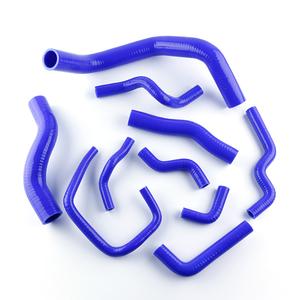 For Nissan Silvia 200SX 240SX S13 S14 S15 SR20DET Silicone Rubber Radiator  Hose Pipe Tube Kit