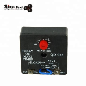 Delay on make timer uesd in refrigerator