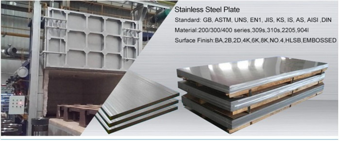 304 / 316 cold rolled stainless steel sheet ASTM A240 standard stainless plate