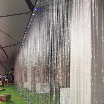 Trade Assurance Garden Decorative Water Curtain Fountain Rain
