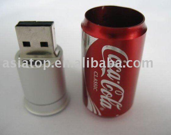 Special Cola Can USB Flash Disk as Giveaways AT-308