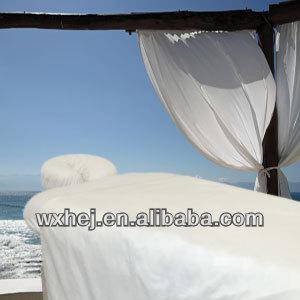 Plain White Massage Table Sheet Sets - Buy Massage Sheet Sets,Spa ...