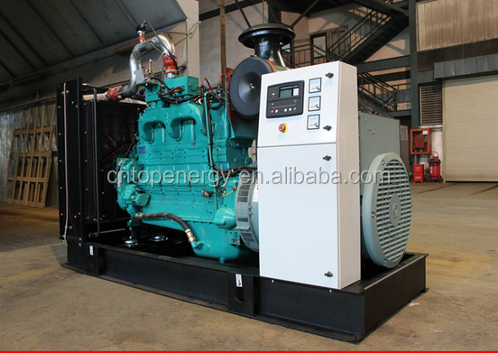 30-150kVA Weifang Biogas/LNG/CNG/Natural Gas Engine Power Electric Generator
