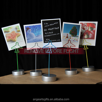 Factory oem design airplane business card holder photo holder memo factory oem design airplane business card holder photo holder memo clip colourmoves