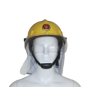 wholesale firefighter helmet with flame retardant shawls