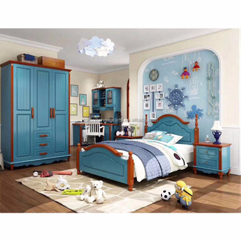 Hot selling Mediterranean Kids bedroom furniture set