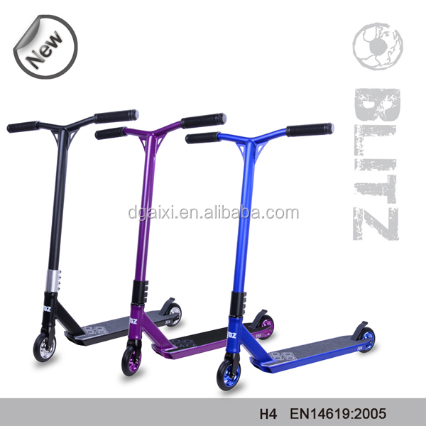 Hot Freestyle Complete 360 Degree Two Wheel Double Pedal Scooter Kids Foot Kick View Aixi Product Details From