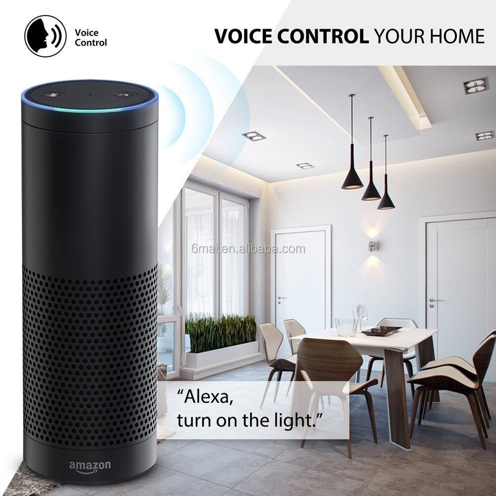 Kehidupan Cerdas APP Remote Control Dinding Sentuh Aplikasi Wifi Smart Home Light Wireless Switch untuk Amazon Alexa Google Home