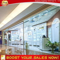 Modern Display Furniture Showcase for Jewelry Retail Store