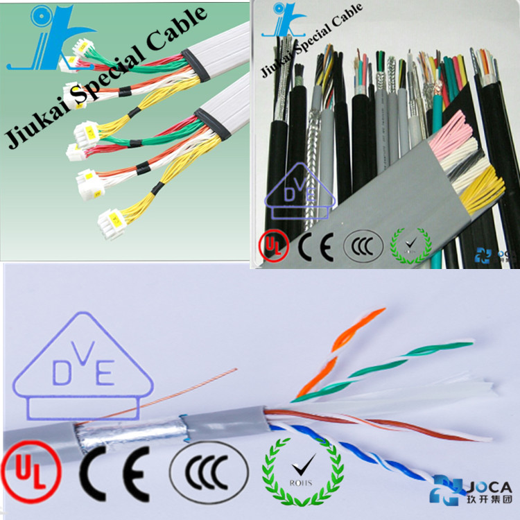 China factory flexible copper conductor network cable utp ftp sftp cat6 cable high speed