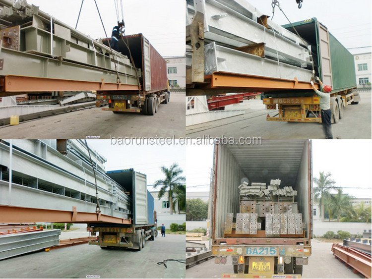 customize modular prefabricated steel structure building