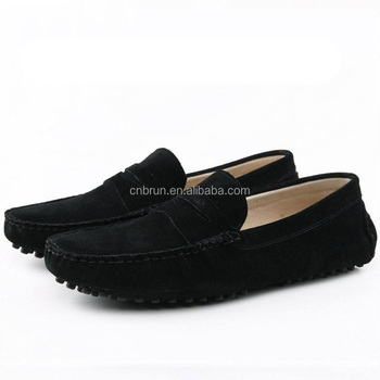 New Driving Shoes Men Loafers Genuine Leather Mens Boat Shoe Male