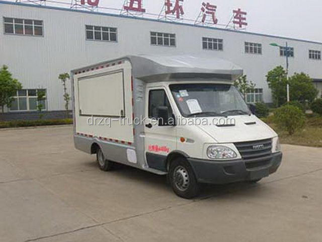 Good quality Iveco mobile food truck