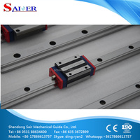 China factory Saier brand SER-GD15 cnc linear motion guide rail for elevators