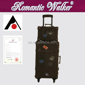 ABS Trunk Luggage Vintage Trolley Luggage Trunk Luggage With Wheel