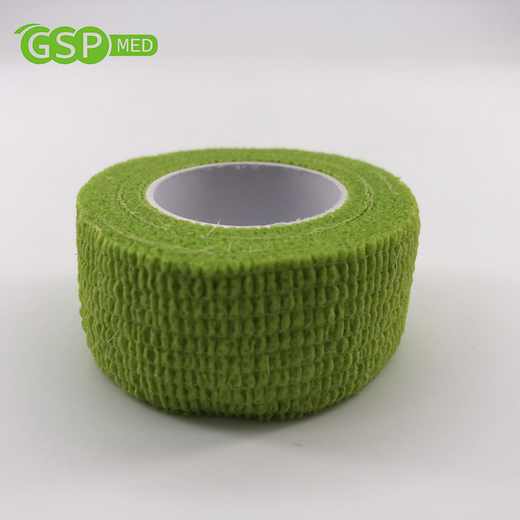 2.5cm*4.5m wholesale non-woven medical <strong>protect</strong> cohesive elastic bandage