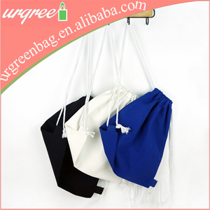 Lady's Convenient Cotton Pouch Backpack For Travelling